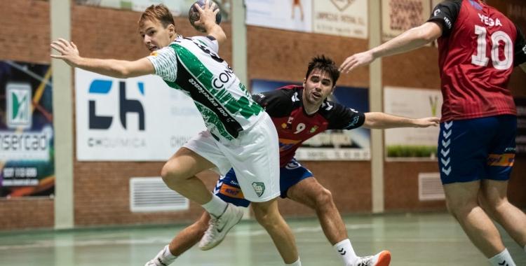 Picola va sumar cinc gols contra el Granollers 'B'   Èric Altimis - OAR Gràcia
