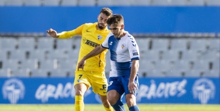 Undabarrena, en l'últim partit contra el Málaga | CES