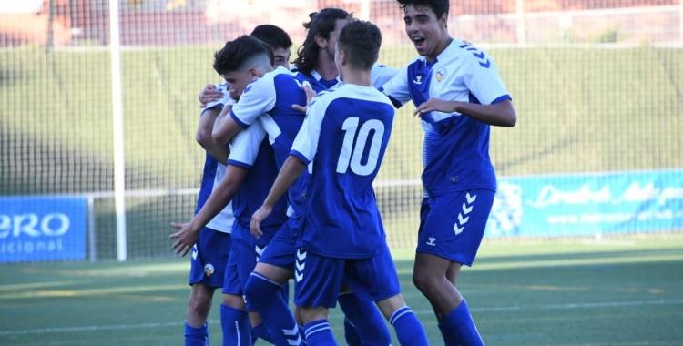 El Sabadell juvenil va estrenar-se amb un empat a Olímpia   CE Sabadell