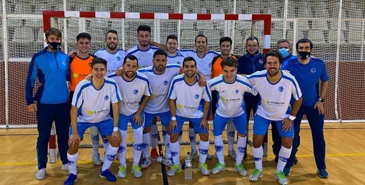 El Club es comença a preparar per afrontar el duel pendent a Manresa | CNS futbol sala