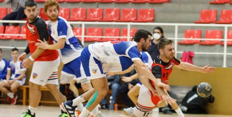 El Creu Alta ve de perdre a la pista de La Salle Montcada   Jordi Vilas