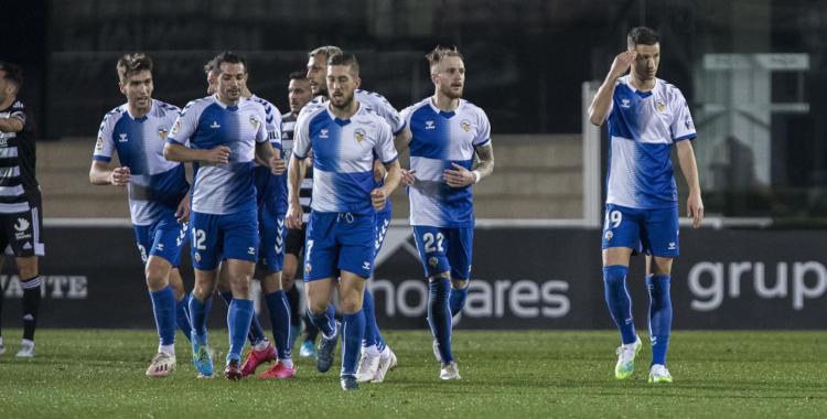 Celebració arlequinada després d'un dels dos gols | LaLiga