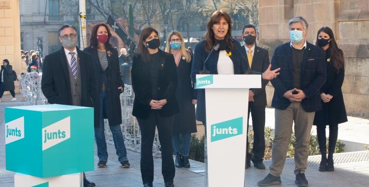 Els caps de llista de Junts per Catalunya es presenten a Sabadell   Roger Benet