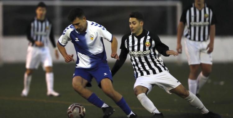 El Sabadell juvenil ve de rascar el primer punt fora de casa al camp del Jàbac | @marcelv_foto