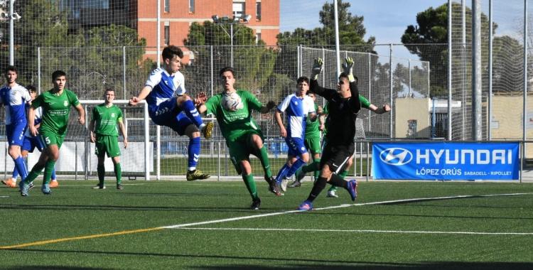 El juvenil del Centre d'Esports Sabadell vol acabar l'any amb victòria | @futbaseces