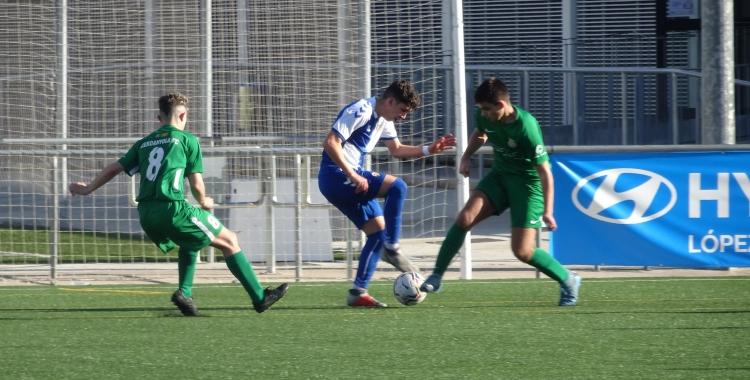 Albert Ramis Luque ha arribat aquesta temporada al Sabadell juvenil | Arxiu