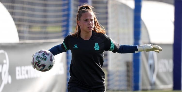 Montse Queseda esperarà noves oportunitats per defensar la porteria de l'Espanyol | @RCDEFemeni