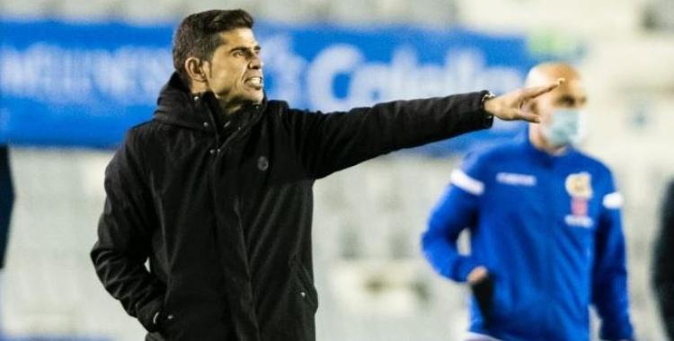 Hidalgo no va tenir problemes per reconèixer el mal joc del seu equip ahir   CES