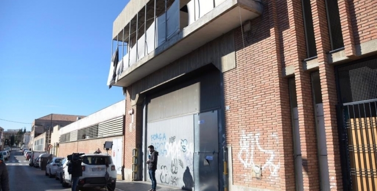 Imatge d'una nau industrial abandonada de Sabadell   Roger Benet (Arxiu)