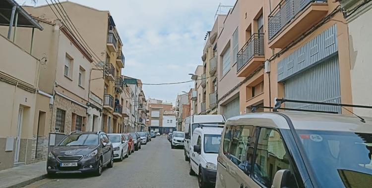 El carrer Cerdanya de Ca n'Oriac és un dels afectats | Cedida