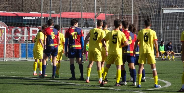El Mercantil inicia la segona volta amb derrota davant el Girona 'B' | Sergi Park