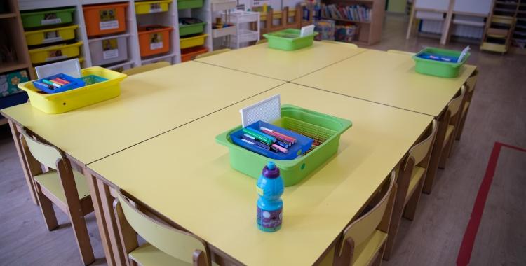 Les escoles s'adapten a les mesures de seguretat per la pandèmia   Roger Benet