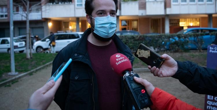 Edu Navarro, candidat número 23 dels comuns | Roger Benet