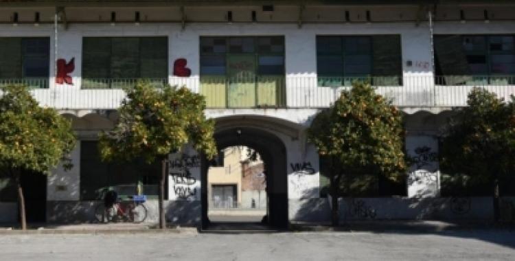Imatge de l'antiga caserna de la Guàrdia Civil   Roger Benet
