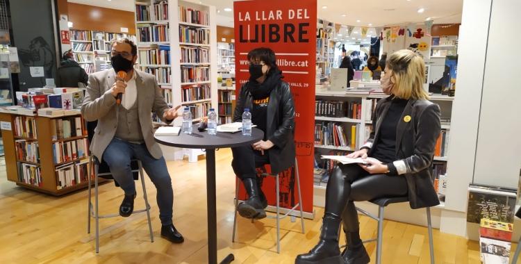 Fernàndez, Riba i Alamany a La Llar del Llibre   Marc Serrano