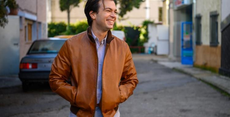 Carlos Serrano Clark a la sèrie   Cedida