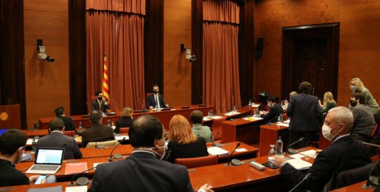 Taula de partits sobre el 14-F al Parlament   ACN