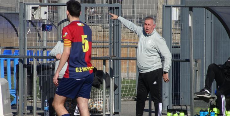 Beltran va dirigir el seu últim partit a casa davant el Girona 'B'   Sergi Park
