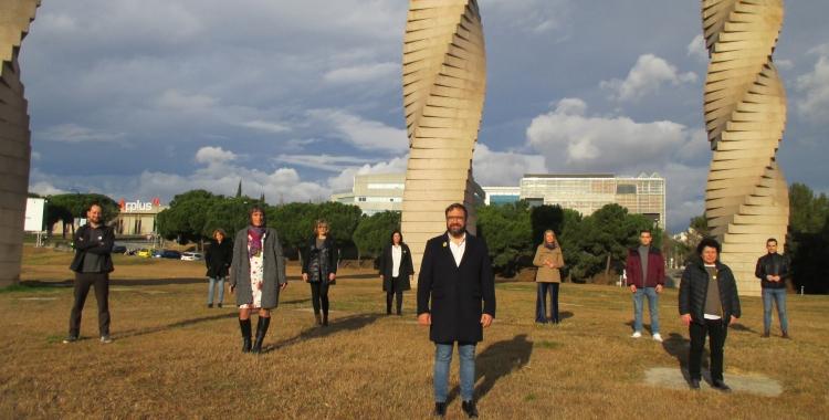 Els 10 vallesans que particpen de les llistes d'ERC   Cedida