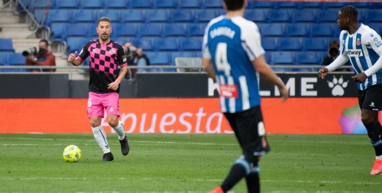 Ángel, dissabte passat davant l'Espanyol   Roger Benet