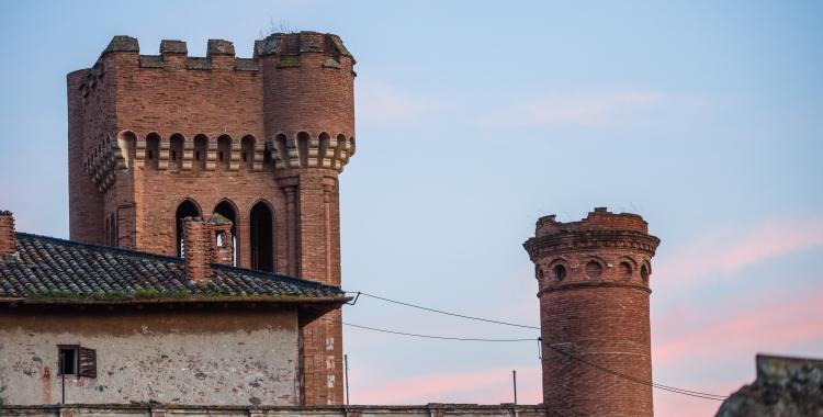 El Castell de Can Feu és un dels immobles protegits en situació de degradació/ Roger Benet