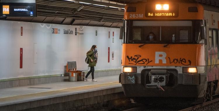 Un tren de Rodalies   Roger Benet