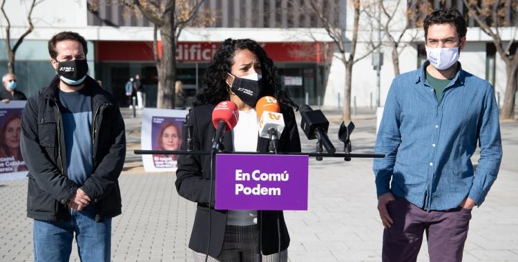 Jèssica González, davant del Taulí/ Roger Benet