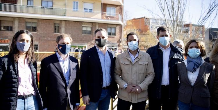 Antonio Gallego, segon per la dreta | Cedida