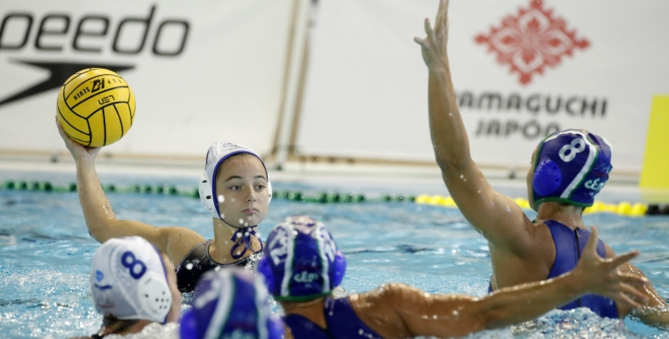 Ruth Ariño, en el duel de la Supercopa contra el 'Medi' | RFEN