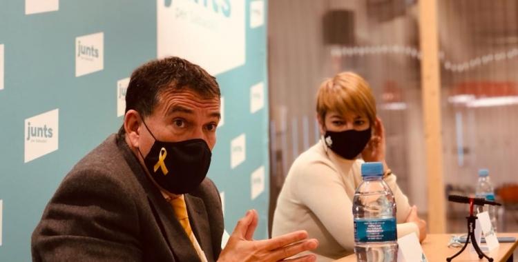 Jaume Alonso-Cuevillas i Lourdes Ciuró | Cedida