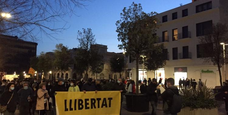 La marxa quan ha començat el seu pas al passeig de la Plaça Major   Ràdio Sabadell