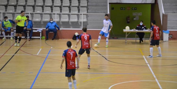 El Club Natació Sabadell, en una acció d'atac | FCF