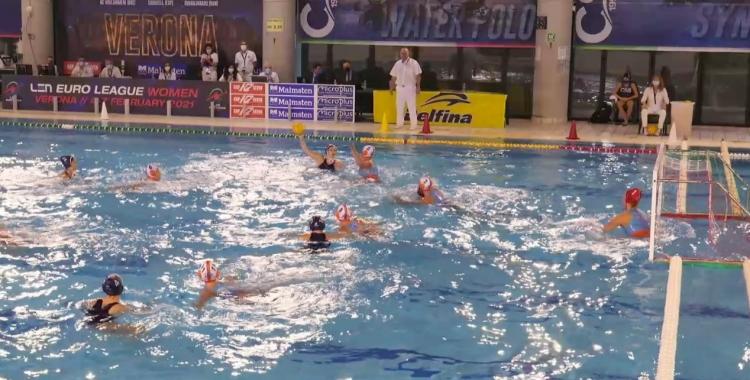 Moment del partit a Verona | LEN