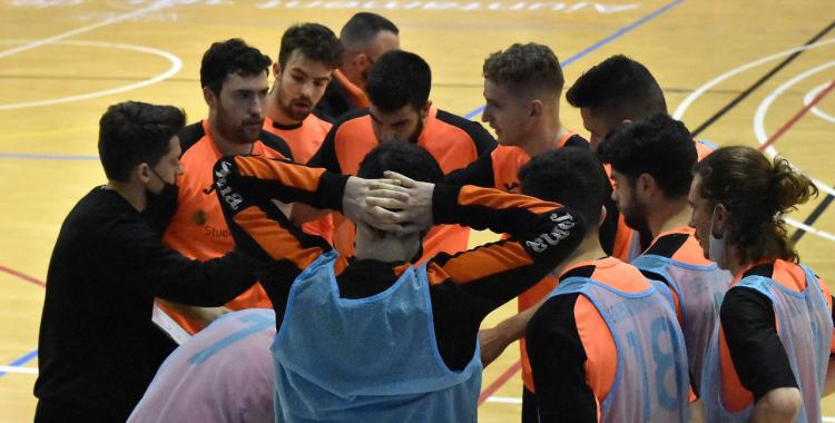 El Grups Arrahona s'ha convertit en el primer equip a superar l'Escorial   Cedida