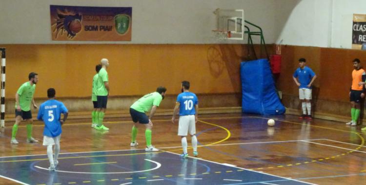 El Futsal Pia no acaba de donar amb la tecla en els seus partits al carrer Garcilaso | Sergi Park