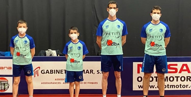 Quartet del Natació Sabadell aquest cap de setmana a Olot   CNS TT