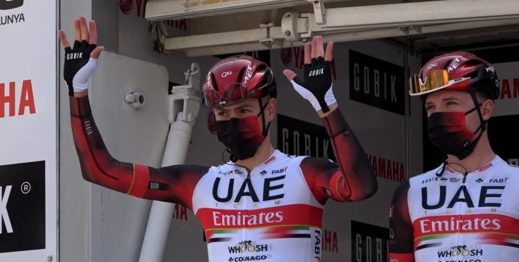 De la Cruz, durant la presentació del Team Emirates   Roger Benet