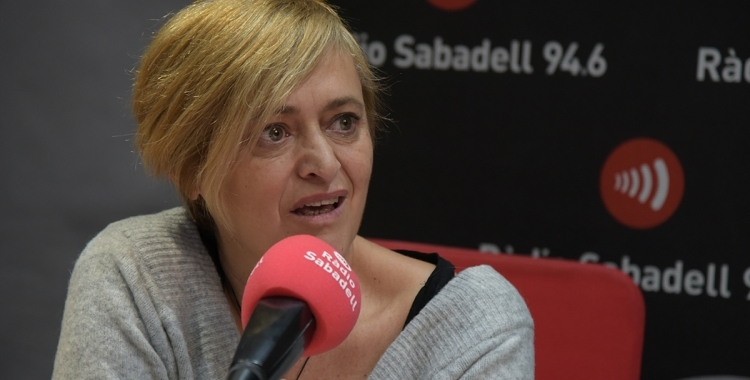 Marisol Martínez en una entrevista a Ràdio Sabadell | Roger Benet