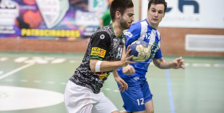 Pol Torras va marcar cinc gols, però no van servir per poder trencar la mala ratxa | OAR Gràcia