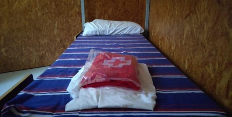 Imatge d'una de les lliteres de l'alberg del Molí de Sant Oleguer | Arxiu