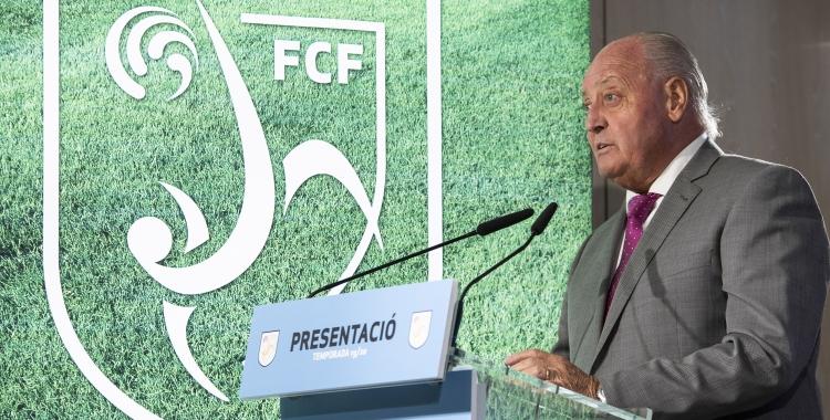 El sabadellenc Joan Soteras en una imatge d'arxiu | FCF