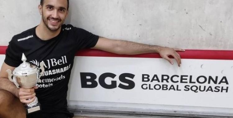 Pajares celebrant la victòria a Barcelona | Instagram