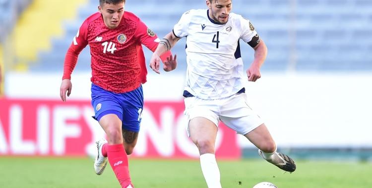 Acció del partit contra Costa Rica   Cedida