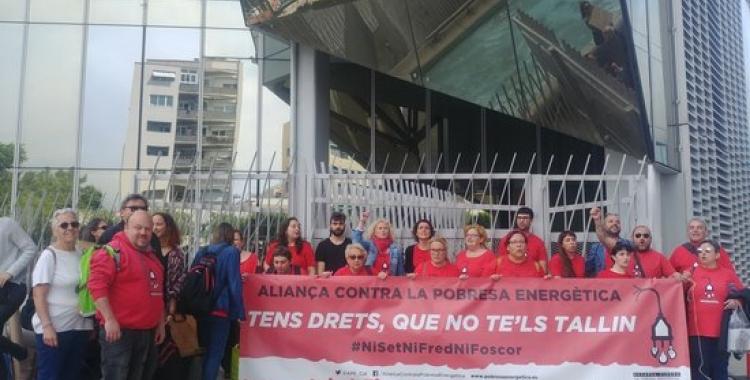 Imatge d'una acció de l'Associació contra la Pobresa Energètica | ACN