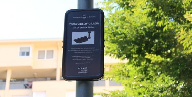A Can Deu ja funcionen càmeres de videovigilància  ACN