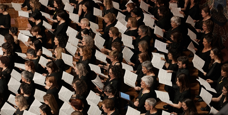 Un concert de l'OSV amb cor/ Paco Amate