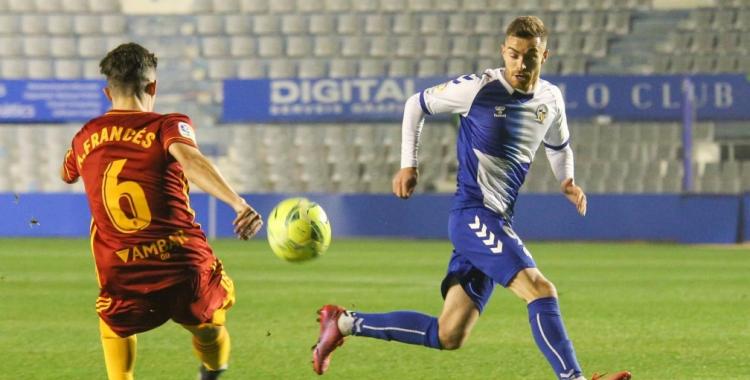 Juan Hernández havia encadenat cinc titularitats des del dia del Zaragoza   CES