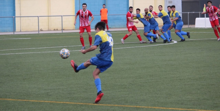 El Sabadell Nord ha sumat dos punts de 18 possibles   Adrián Arroyo