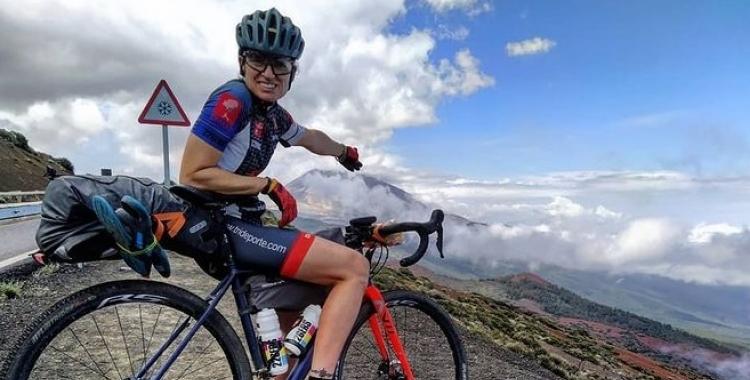 Xinxó va incloure bona part del Teide al recorregut de la Gran Guanche   Instagram