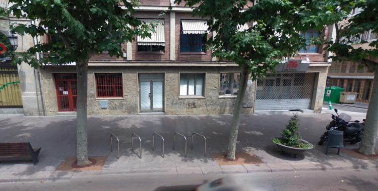 La façana de les seus d'UGT (esquerra) i CCOO (dreta) | Google Maps